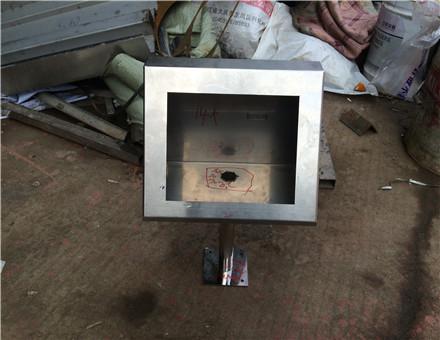 不锈钢打卡机盒